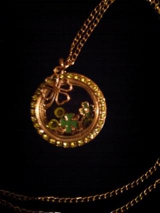 St. Patty's Day Living Locket Necklace~GIN Bonus