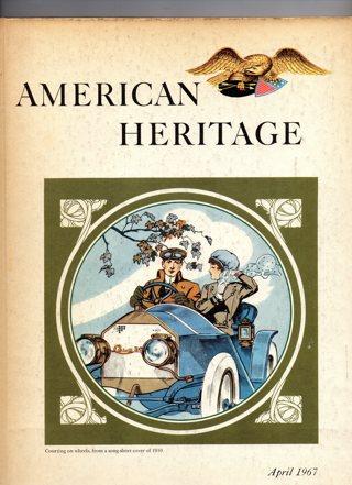 Vintage American Heritage Hard Covered Book: April 1967