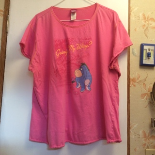 Gently Worn Licensed Disney Eyore 2X Shirt