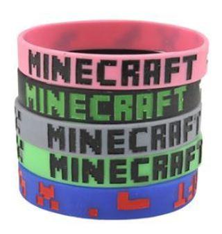 NEW Minecraft Wristband Bracelet Video Game Gear Accessories