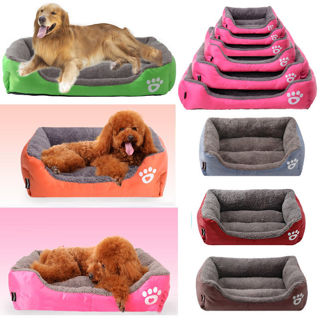 Pet Dog Cat Bed Puppy Cushion House Soft Warm Kennel Mat Blanket New