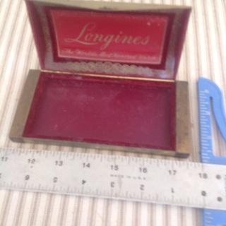 Vintage Longines watch box