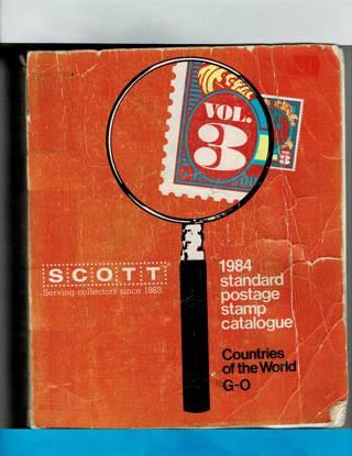 1984 Standard Postage Stamp Catalogue
