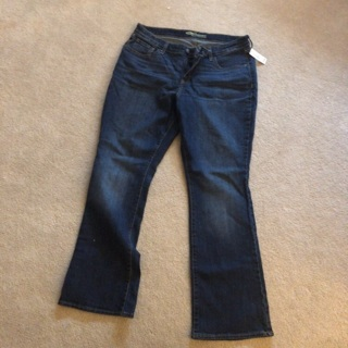 New women's old navy jeans size 14short