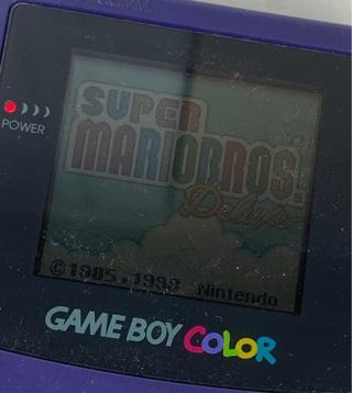 ✯Super Mario Bros Deluxe (Nintendo Game Boy Color, 1999) ~ FREE SHIPPING✯