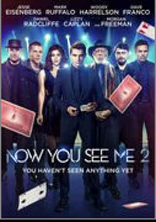 Now You See Me 2 - SD Flixster Digital Redeem