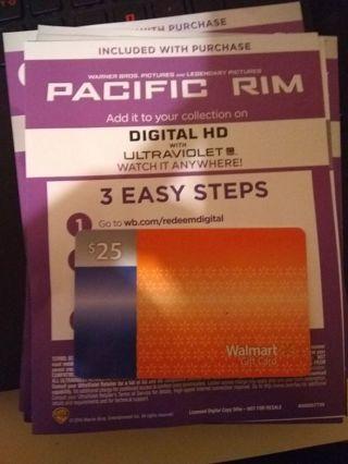 Pacific Rim uv code