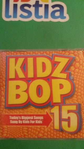 cd  as see on tv  kidz bop 15  free shipping