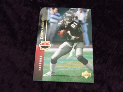 1994 HOFer Deion Sanders Atlanta Falcons Upper Deck Card #302