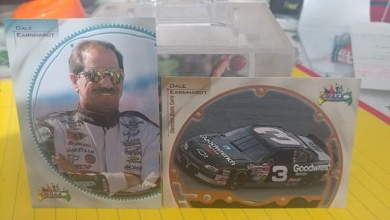 "1998 Maxx Dale Earnhardt Sr. Cards GM Goodwrench #3 ""THE INTIMIDATOR"""