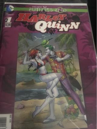 DC Harley Quinn #1 3D Cover Mint
