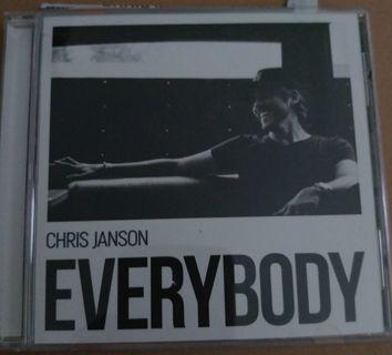 Chris Janson CD Everybody Autograph!!