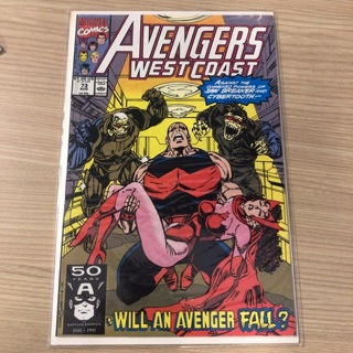 avengers west coast 73  marvel  1991