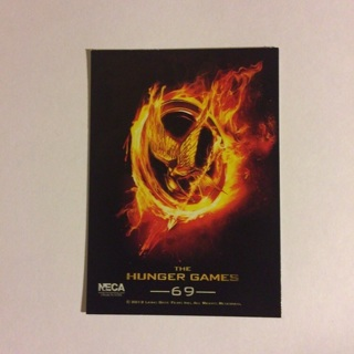 2012 The Hunger Games Collectible Trading Card ~ Card # 69