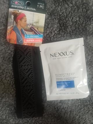 Hair Care Nexxus Humectress and Scunci Headband