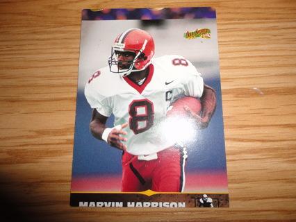 Free Marvin Harrison Rare Rookie 1996 Score Board All Sport