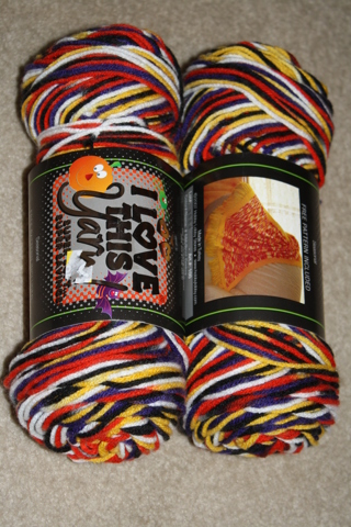 Free: 2 New Skeins of I Love this Yarn Boo! Ombre Halloween