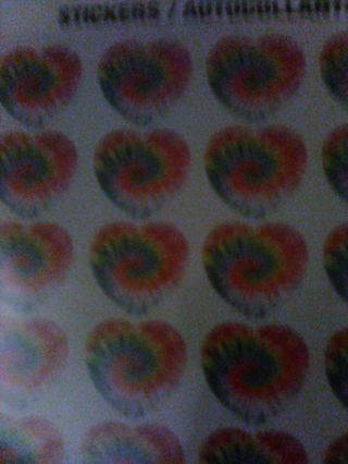 Heart stickers