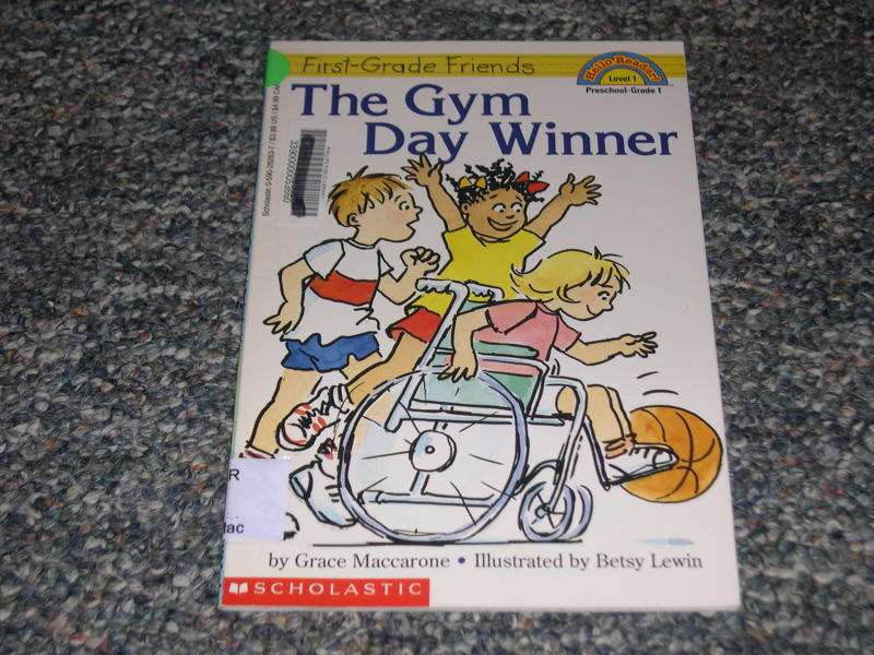 Free The Gym Day Winner First Grade Friends Book Children S Books Listia Com Auctions For Free Stuff
