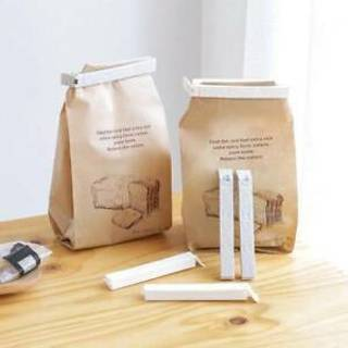 5Pcs Kitchen Storage Food Snack Seal Sealing Bag Clips Sealer Clamp Plastic Tool