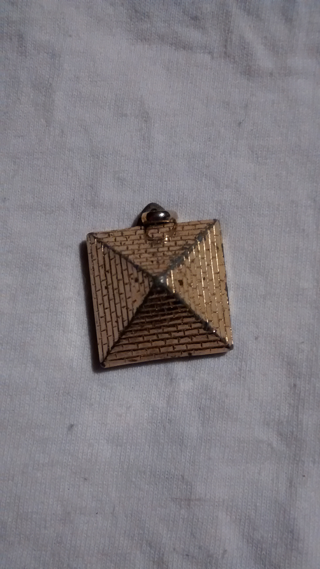Pyramid pendent