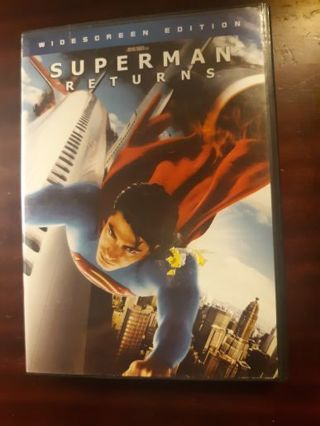 Superman Returns DVD ~BUY 3 GET 1 FREE on all DVD and blurays~