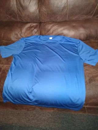 XL Sport-Tek T-shirt (Blue)