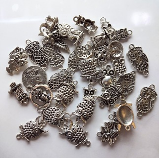 Silver Charms By Set