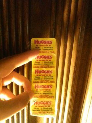 5 Huggies rewards codes