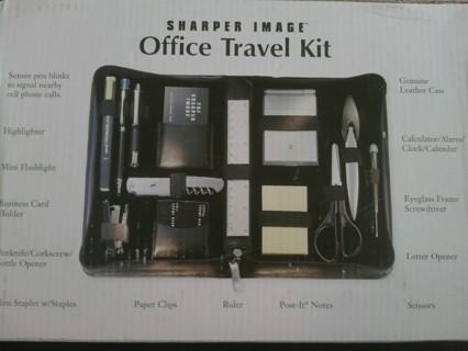 Sharper Image Office Travel Kit Free Shipping