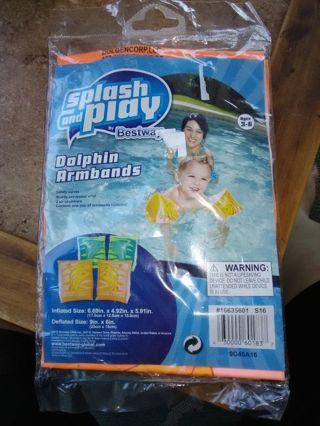 BN Splash & Play Dolphin Armbands