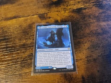 Magic the gathering mtg Cosima God of the Voyage, The Omenkeel rare card