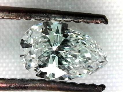 DIAMOND VS QUALITY PEAR SHAPE 3/5 FIFTHS OF A CARAT VVS-VS QUALITY WOW
