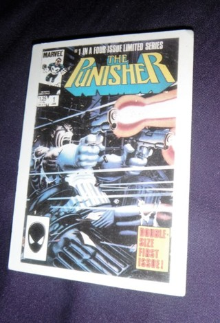 MARVEL 1ST COVERS SERIES II 2 1991 CARD #36 THE PUNISHER