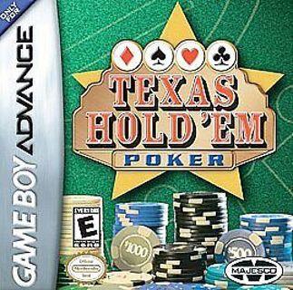 Texas Holdem Poker GBA Game