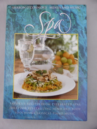 Sharon O'Connor's Menus and Music SPA Cookbook / CD Gift Box