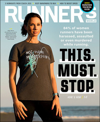 Lowered GIN! RUNNER'S WORLD Magazine TWO Year (12 issues) Subscription