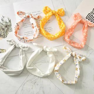 Kids Headband Bow For Girl Rabbit Ear Hairbands Turban Knot Kids Turbans Accessoire Faixa Cabelo P