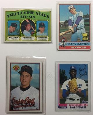 Free Vintage Toppsbowman Baseball Rookie Cards Gary Carter