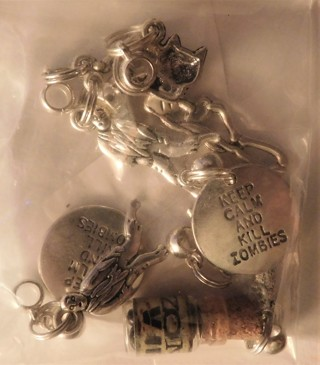 Zombie Themed Jewelry Charms