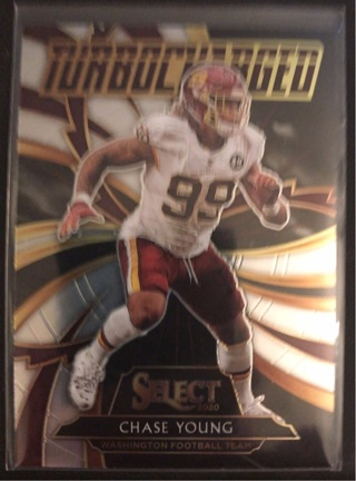 2020 Panini Select 'Turbocharged' Chase Young #T22