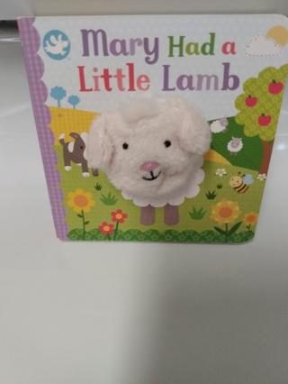 Brand New Mary Had a Little Lamb Book (Pls Read)