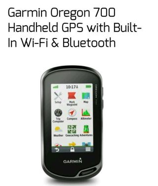 Garmin Oregon 700 Handheld GPS with Built-In Wi-Fi & Bluetooth