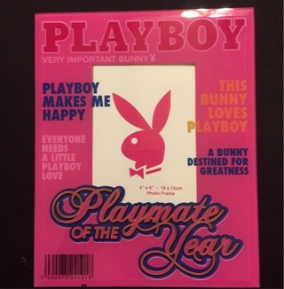 FREE Glass Playboy Picture Frame
