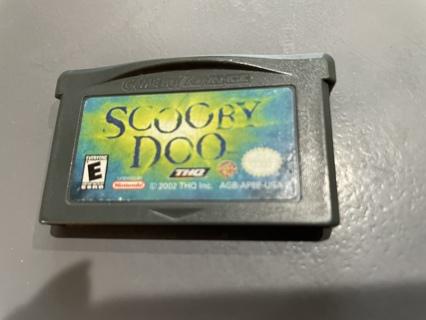 Vintage Nintendo Gameboy Scooby Doo Game