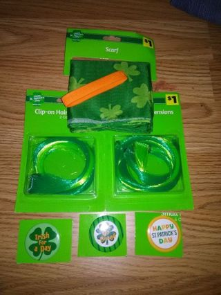 BN 7pc Happy St. Patrick's Day Lot #1