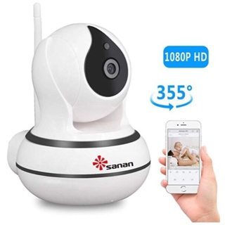 Brand New! Wireless Home Security Camera with Audio! By Sanan! WOW!