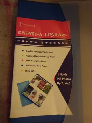 Create A Library Photo with Case