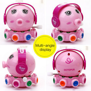 Cute Animal Octopus Figures Clockwork Toys Kids Wind Up Cartoon Toy Children New