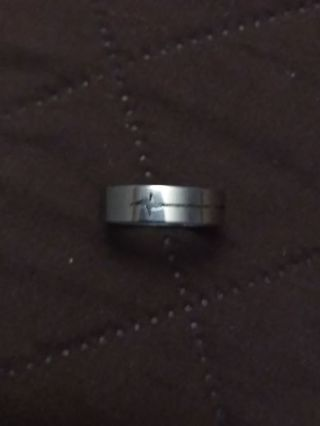 Stainless Steel ring size 8